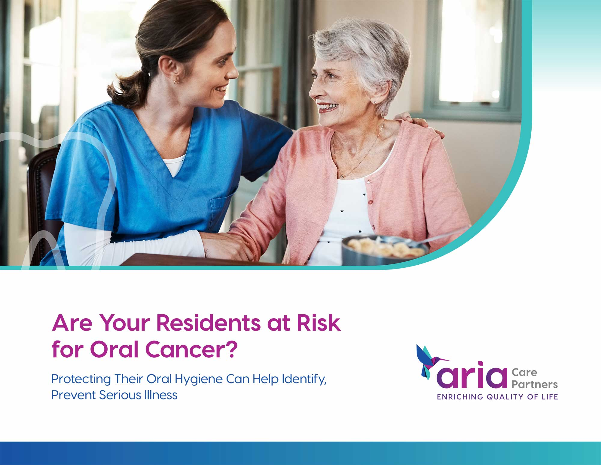 Are Your Residents at Risk for Oral Cancer?